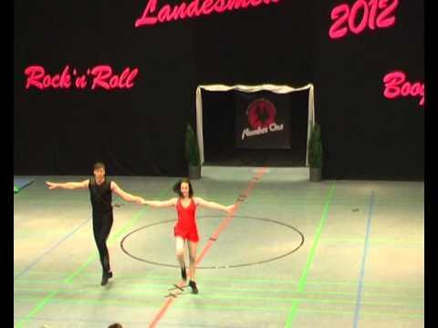 Isabell Breitwieser & Kevin Hoffmann - Landesmeisterschaft NRW 2012