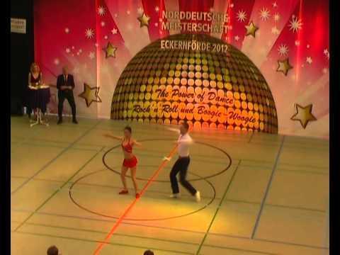 Julia Geishauser & Patrick Pfaller - Norddeutsche Meisterschaft 2012