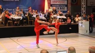Christina Bischoff-Moos & Lukas Moos - Deutsche Meisterschaft 2015
