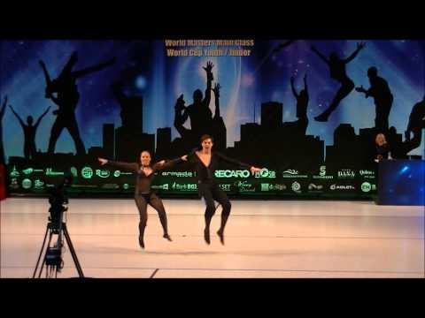 Christina Bischoff-Moos & Lukas Moos - World Masters Zielona Gora 2012