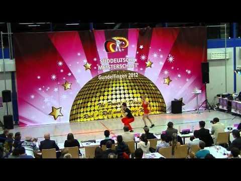 Ayline Spielmann & Philipp Sauter - Süddeutsche Meisterschaft 2012