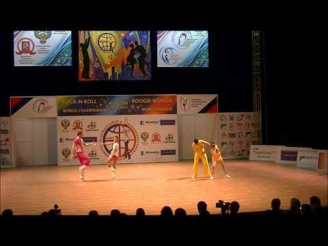 Christina Bischoff-Moos & Lukas Moos - Weltmeisterschaft 2012