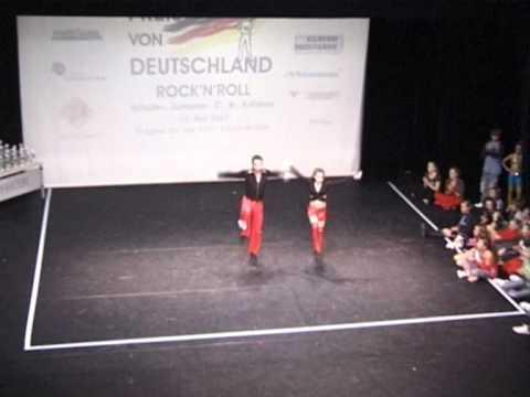 Danielle Tönges & Luca Daly - Großer Preis von Deutschland 2007
