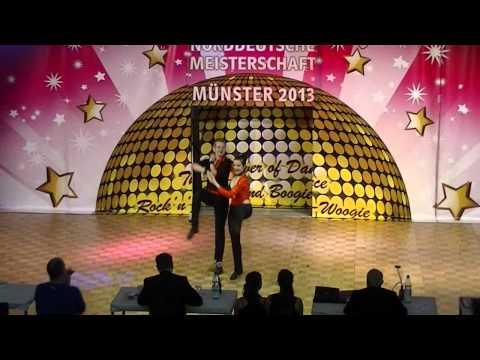 Pauline Dobberkau & Lucas Dobberkau - Norddeutsche Meisterschaft 2013