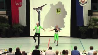 Adrienn Vaczi & Tobias Rehm - LM Baden-Württemberg & Hessen 2015