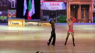 Ophélie Portillo & Marty Delatorre - Europameisterschaft 2015