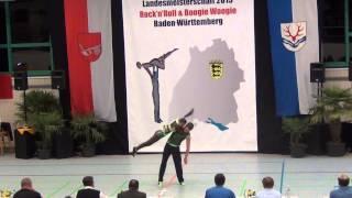 Anja Gentner & Christian Gartmeier - LM Baden-Württemberg & Hessen 2015