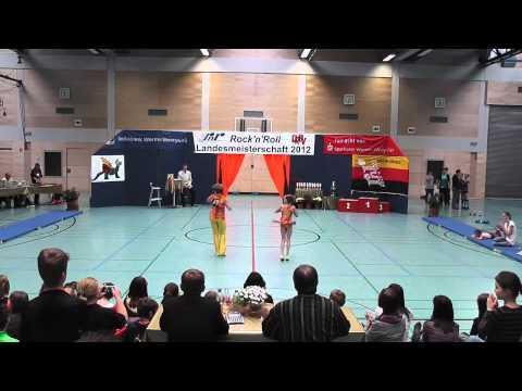 Rebekka Stahl & Marcel Ansorg - Landesmeisterschaft Rheinland- Pfalz 2012