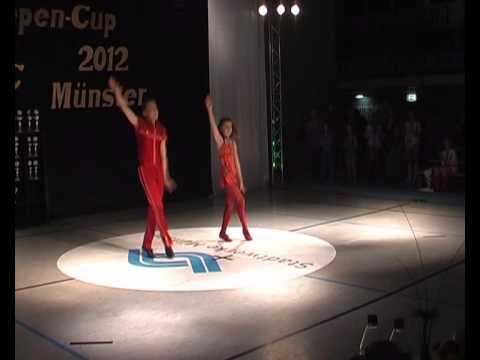 Lisa-Marie Pläsken & Joel Peukmann - Kiepen Cup 2012