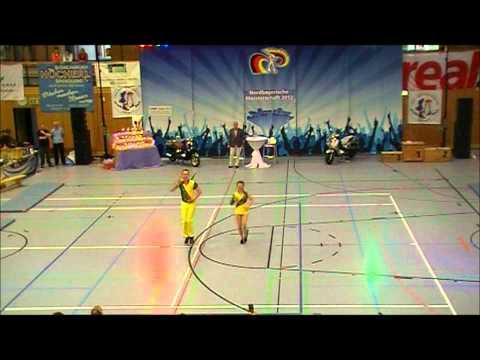 Sonja Käufl & Thomas Wahl - Nordbayerische Meisterschaft 2012