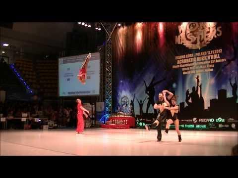 Youdin - Sbitneva & Cerutti - Galvez - World Masters Zielona Gora 2012