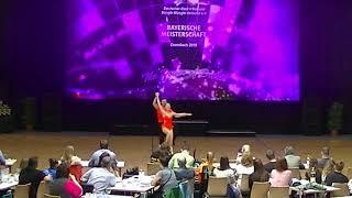 Julia Forberger & Maximilian Senftleben - Landesmeisterschaft Bayern 2019