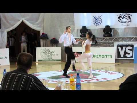 Zsófia Oravecz & Tamás Vajda - Europameisterschaft 2012