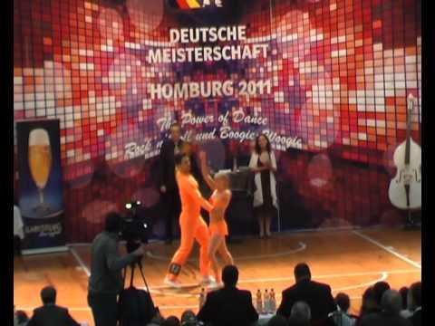Melanie Franke & Tobias Bludau - Deutsche Meisterschaft 2011