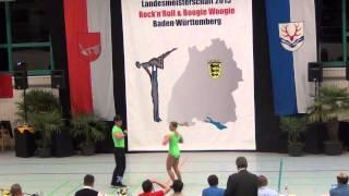 Carolin Steinberger & Tobias Planer - LM Baden-Württemberg & Hessen 2015