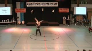 Anja Gentner & Christian Gartmeier - Landesmeisterschaft Bayern 2016