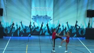 Chiara Stuper & Pascal Kerschenloher - Hupfadn Turnier 2015