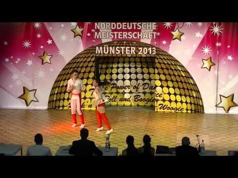 Miriam Schmid & Fabian Kuhn - Norddeutsche Meisterschaft 2013