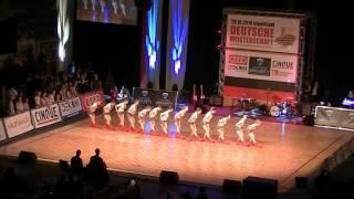 East Side Dancers - Deutsche Meisterschaft Formationen 2016