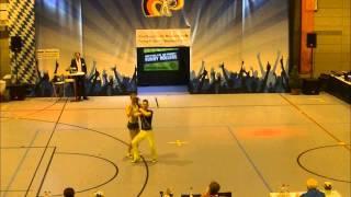 Madeleine Egger & Mischel Menzinger - Nordbayerische Meisterschaft 2015