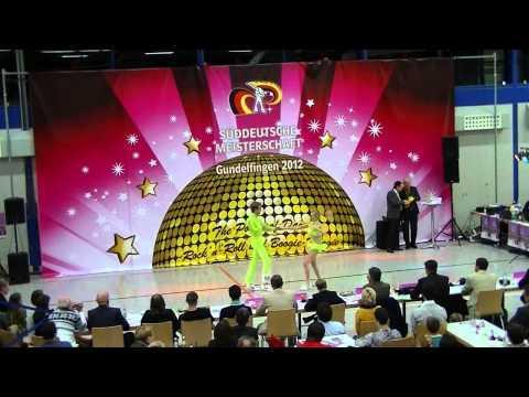 Nadine Mattis & Manuel Faßler - Süddeutsche Meisterschaft 2012