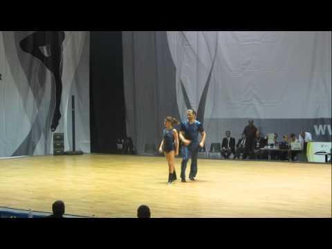Amélie Galvez & Richard Cerutti - World Masters Rimini 2012