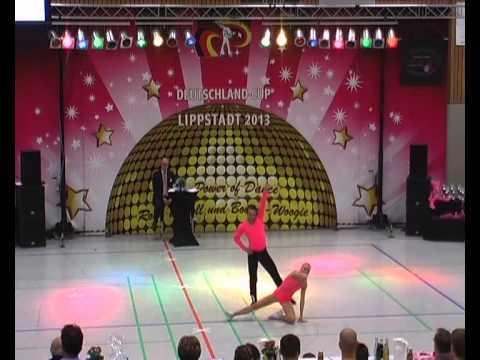 Nicole Kalb & Alexander Kapsalis - Deutschland Cup 2013