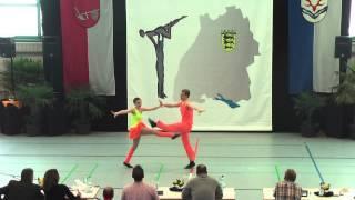 Beatrice Stubenvoll & Max Jeremias - Ländle Cup 2015