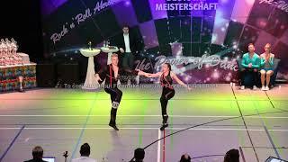 Sophie Schroter & Joel Peukmann - Deutsche Meisterschaft 2019