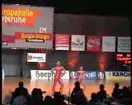 Fanny Delebeque & Alexis Chardenoux - Europameisterschaft 2004