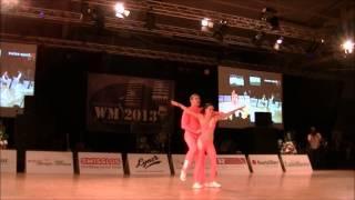 Julia Geishauser & Patrick Pfaller - Weltmeisterschaft 2013