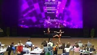 Carina Julia Kreuzpointner & Vitus Reiter - Landesmeisterschaft Bayern 2019