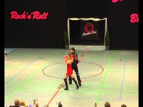 Kim Brüls & Sacha Gilson - Landesmeisterschaft NRW 2012