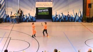Madita Pilgram - Niklas Pilgram - Nordbayerische Meisterschaft 2015