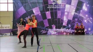 Viviane Gina Lebrecht & Lukas Denzel Saar Kings Cup 2018