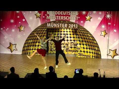 Lara Vogt & Tobias Grimm - Norddeutsche Meisterschaft 2013