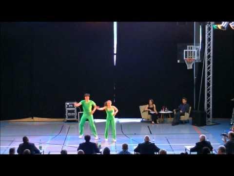 Christina Bischoff & Lukas Moos - Deutschland Cup 2012