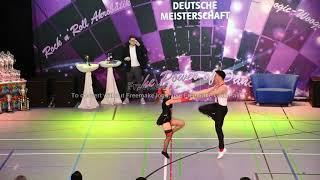 Anja Gentner & Christian Gartmeier - Deutsche Meisterschaft 2019