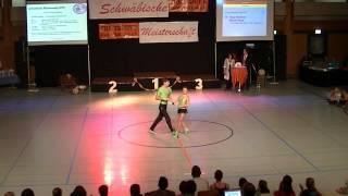 Tanja Klemenz & Marcel Pemp - Schwäbische Meisterschaft 2013