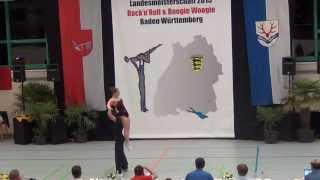 Vanessa Gottschall & Christian Lehr - LM Baden-Württemberg & Hessen 2015