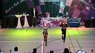 Lucy Wiedemaier & Andreas Meier - Deutsche Meisterschaft 2019