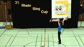 Nadine Stünkel & Sebastian Rott - 31. Rhein-Sieg-Cup 2013