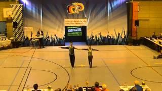 Anja Gentner & Christian Gartmeier - Nordbayerische Meisterschaft 2015