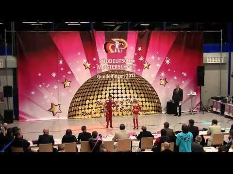 Lucy Wiedemaier & Oliver Kurzaj - Süddeutsche Meisterschaft 2012