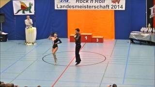 Katharina Bürger & Tobias Bludau - Landesmeisterschaft Rheinland- Pfalz 2014