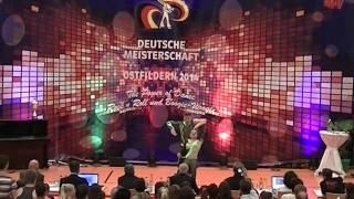 Anja Gentner & Christian Gartmeier - Deutsche Meisterschaft 2014
