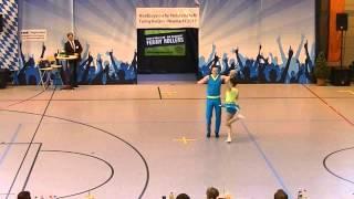 Lisa Haslbeck & Dominik Stubenvoll - Nordbayerische Meisterschaft 2015