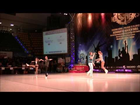Mandorino - Mandorino & Panferov - Avdeeva - World Masters Zielona Gora 2012