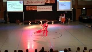 Katja Geiger & Sebastian Geiger - Schwäbische Meisterschaft 2013
