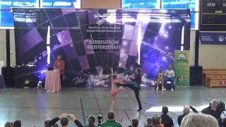 Anja Gentner & Christian Gartmeier - Süddeutsche Meisterschaft 2019